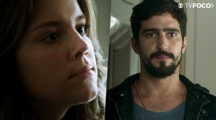 Dalila (Alice Wegmann) enfrentará Jamil (Renato Góes) na novela Órfãos da Terra da Globo
