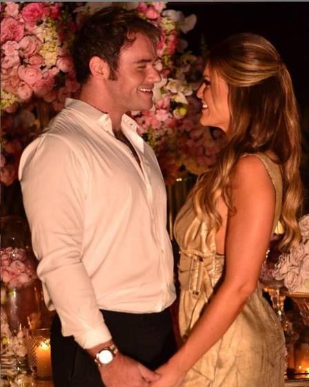 Thor Batista e a noiva Lunara (Foto: Instagram)