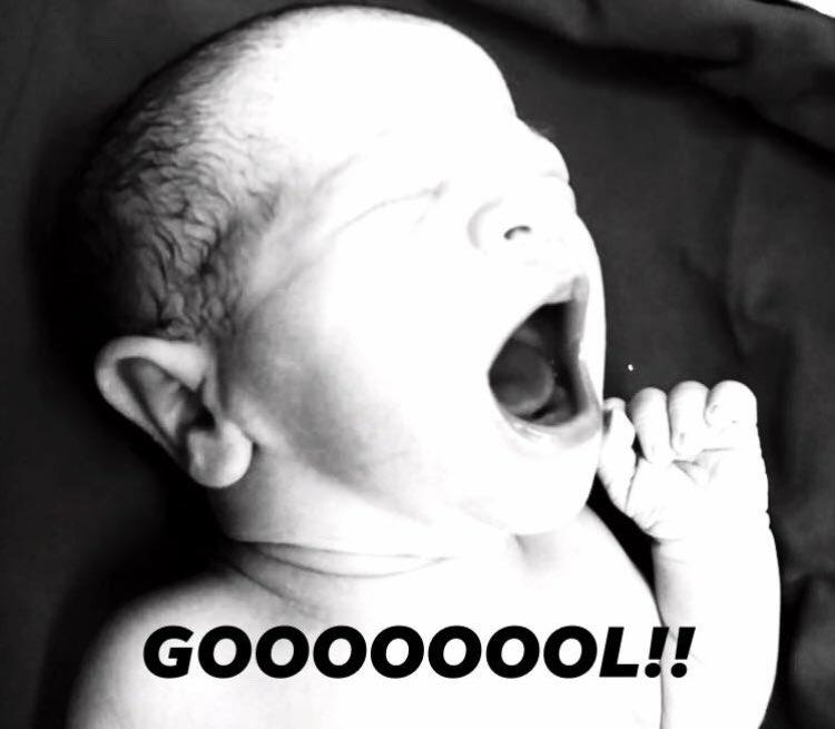 Filho do apresentador esportivo nasceu após o pai abandonar programa ao vivo (Foto: Reprodução)