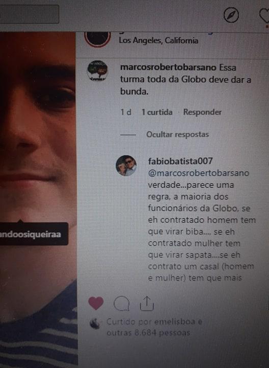 Fernando Grostein, irmão de Luciano Huck, foi vítima de homofobia, após postar foto com o namorado (Reprodução: Instagram)