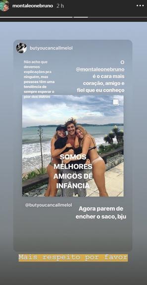 Bruno Montaleone esqueceu Sasha Meneghel e partiu para outra. Será? (Foto: AgNews)