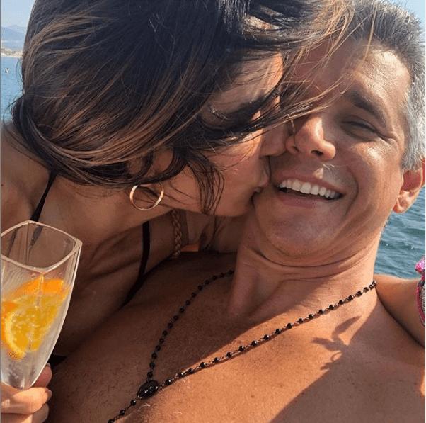 Marcio Garcia em passeio de barco com a família (Foto: Reprodução/ Instagram)