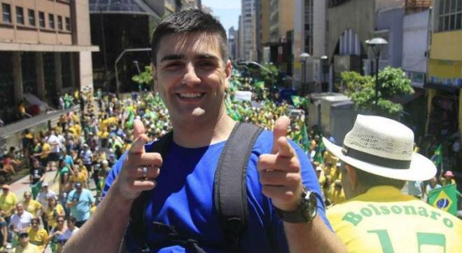 Mc Reaça é apoiado por Jair Bolsonaro Foto: Facebook