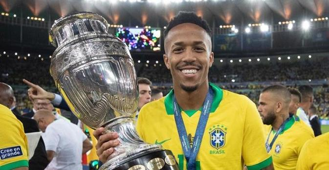 Éder Militão é lateral da seleção brasileira e novo contratado do Real Madrid (Foto: Reprodução/Instagram)