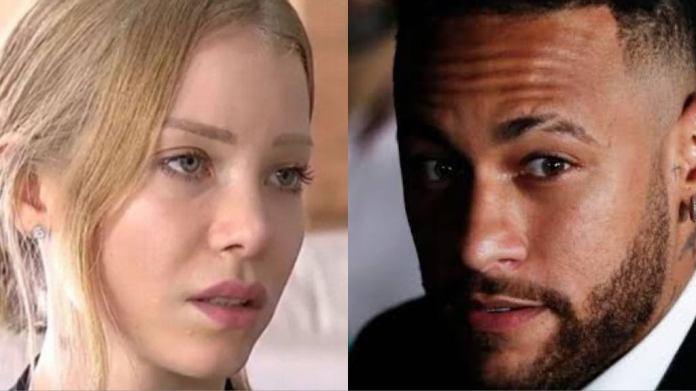 Najila Trindade e Neymar continuam em alta por conta da polêmica de estupro (Montagem: <a href=