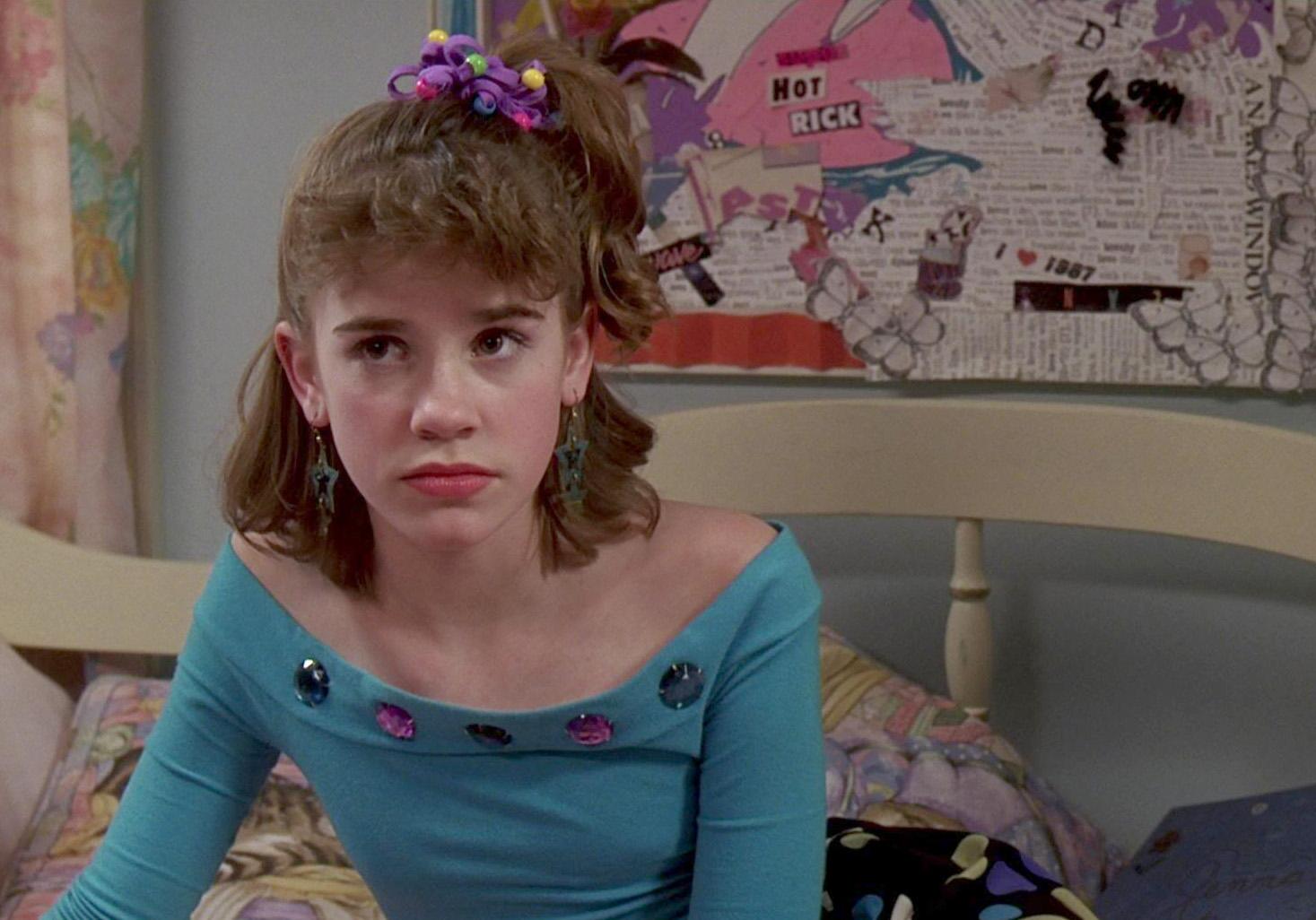 Christa B. Allen no tempo do filme De Repente 30 (Foto: Reprodução)