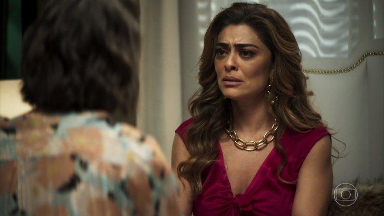 Maria da Paz (Juliana Paes) em cena novela das nove da Globo em A Dona do Pedaço