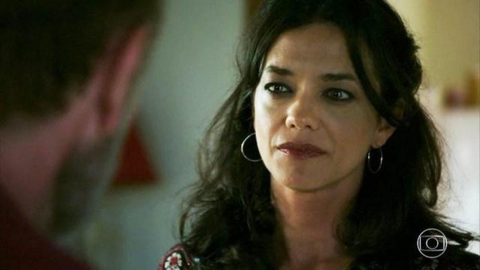 Missade se separará de Elias em cena da novela das 18h da Globo, Órfãos da Terra (Foto: Reprodução)