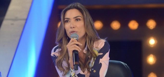 Patricia Abravanel estreia neste sábado, 17 de agosto, o programa Topa ou Não Topa no SBT e mandou recado um afrontoso para Luciano Huck, da Globo. (Foto: Divulgação)