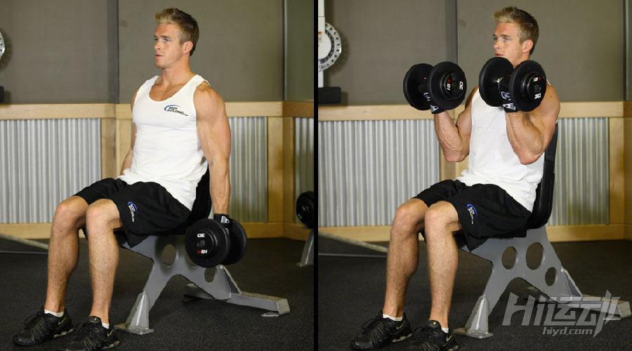 不想去健身房 6個啞鈴動作練成肌肉男_Hi運動健身網
