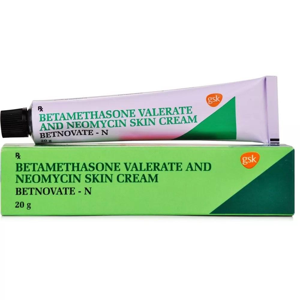 Betnovate N Cream - (0.1%w/w/0.5%w/w) (20g) | Buy on Healthmug