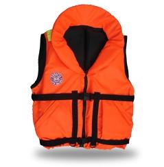 Жилет спасательный Плавсервис Hunter, цвет: оранжевый. Размер 66-72, вес до 140 кг