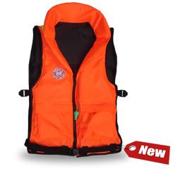 Жилет спасательный Плавсервис Pilot, цвет: оранжевый. Размер универсальный, вес 60-120 кг