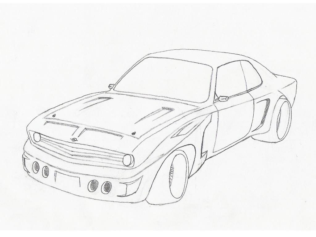 Opel Manta 2 0e