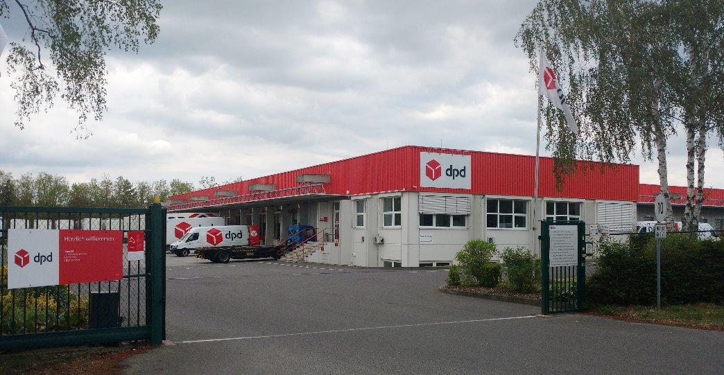 DPD Lübbenau Paketdienst  Paketzentrum von DPD