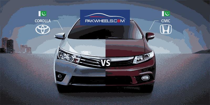 new corolla altis on road price cicilan grand avanza comparing 2014 vs civic paper - pakwheels blog