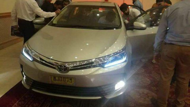 brand new toyota altis price grand avanza hitam bookings for 2018 face lifted corolla now open pakwheels blog we ve already seen the facelifted in all of its glory from design to features and revised prices