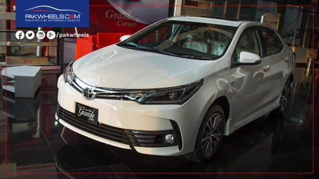 new corolla altis on road price pajak grand avanza 2018 2017 toyota grande cvt i detailed review specs pakwheels and photos