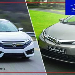 All New Corolla Altis Vs Civic Dimensi Grand Veloz 2017 Toyota Grande Facelift Honda