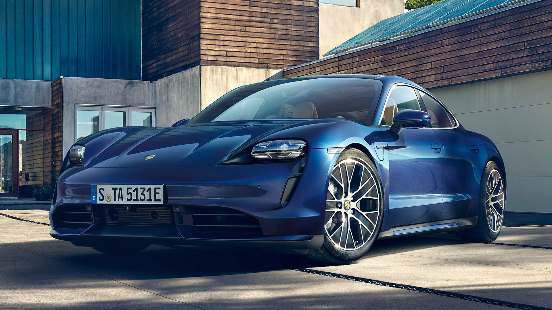 Best Looking Car Wallpaper Porsche Taycan Launched With A Starting Price Of 150 900