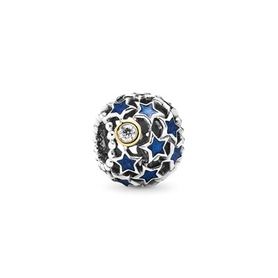 Night Sky Openwork Charm 791371CZ Charms PANDORA
