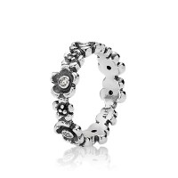 Flower Ring - 190122CZ - Rings | PANDORA