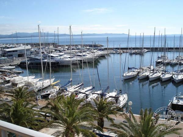 Location Appartement Hyeres Port 4 personnes ds 500 euros par semaine  Ref 207901534
