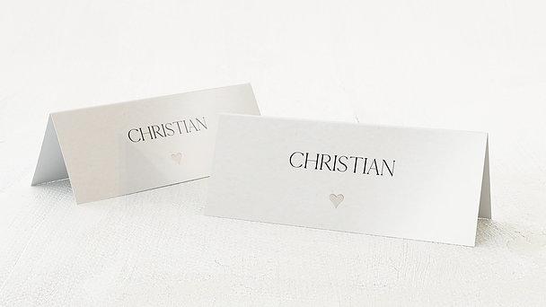 Kreative Tischkarten Hochzeit  aus edlen und stilvollen
