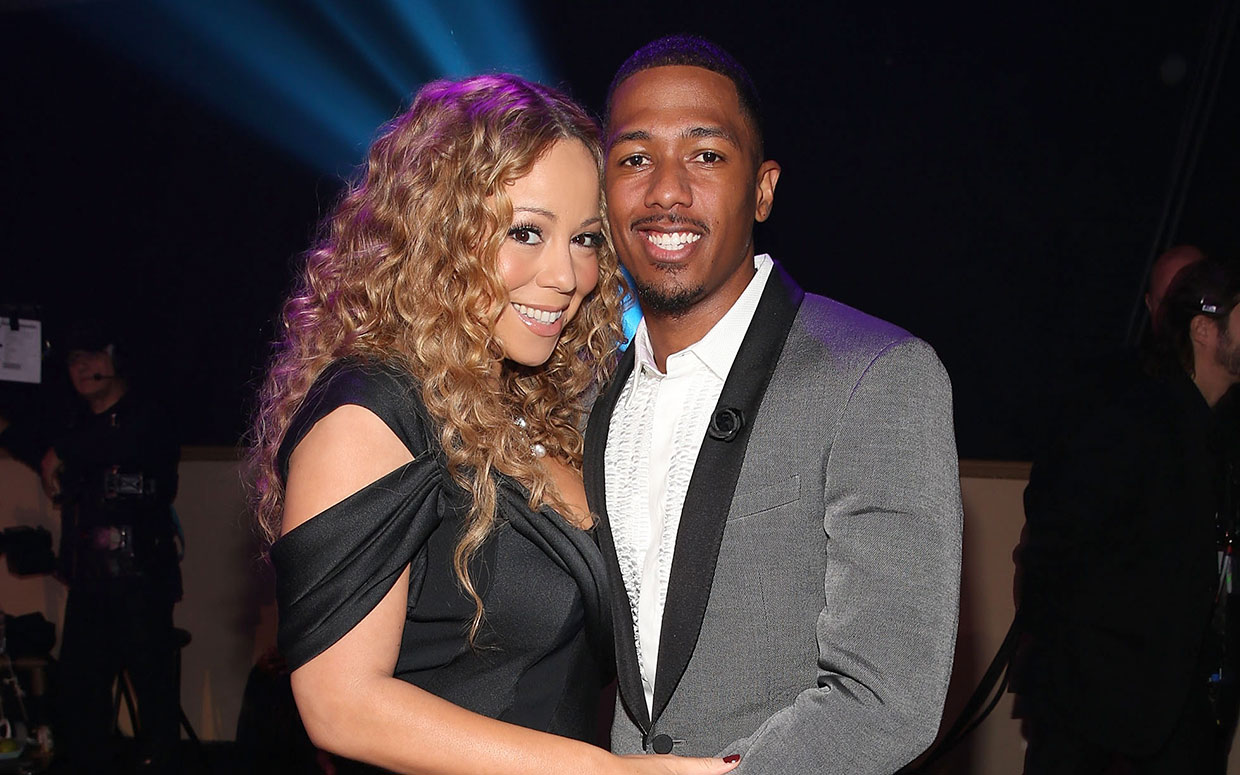 Mariah Carey Nick Cannon Renew Vows in Disneyland