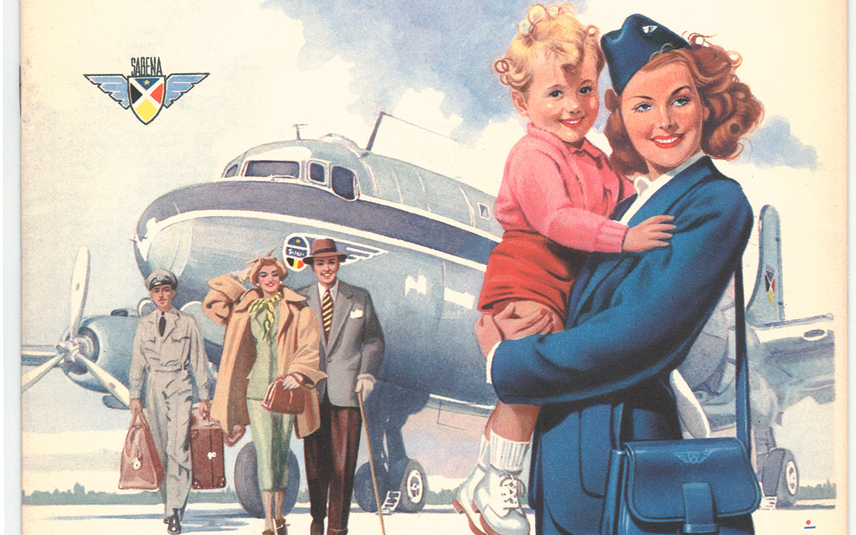 Gorgeous Vintage Airline Posters From Around The World