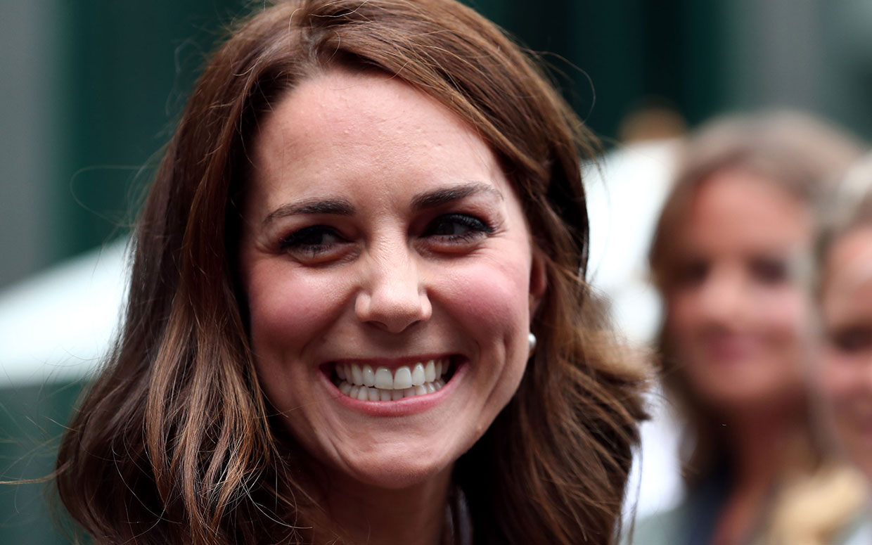 Duchess of Cambridge Dazzles in Princess Dianas Favorite Tiara Ruby Necklace and Fairytale
