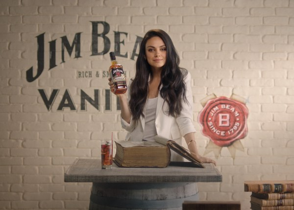 Mila Kunis Drives Love Bourbon And Favorite With Husband