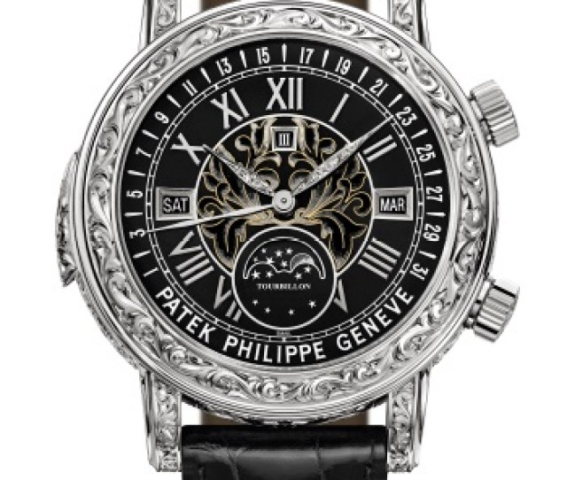 Patek Philippe Grand Complications Ref 6002g 010 White Gold Face