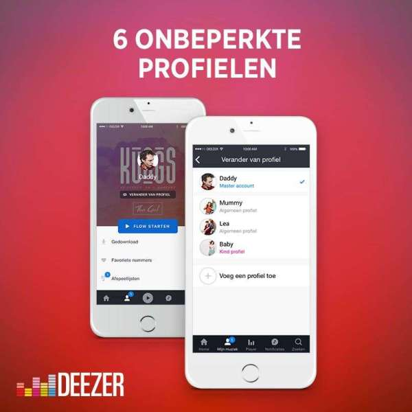 Deezer Introduce Deezer Family With Features - Year of Clean