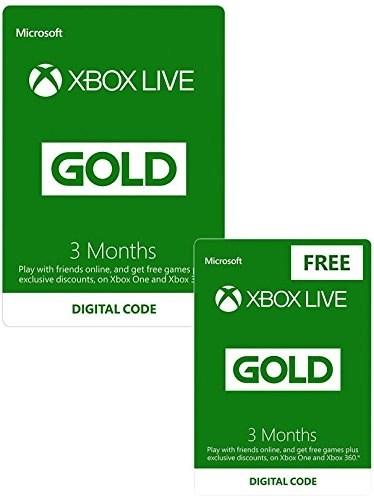 Xbox Live Gold 6 Miesicy Dwa Kody 3 Na Miesice 1499GBP Pepperpl