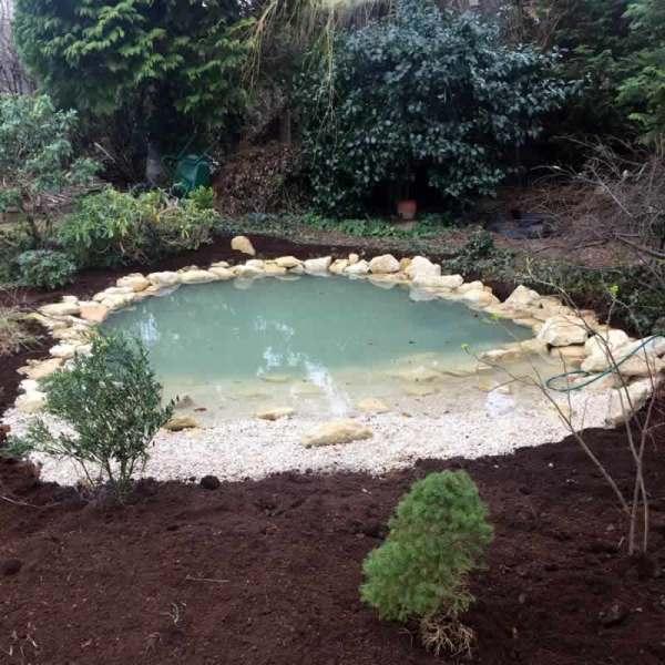 garden ponds & water features client
