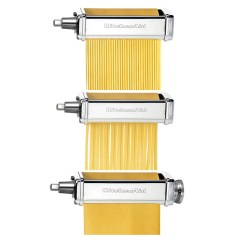 Kitchen Aid Pasta Rolling Island For Stand Mixer Accessories Peter S Of Kensington Kitchenaid Roller Set 3pce 5ksmpra