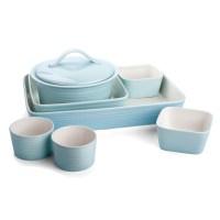 Royal Doulton - Gordon Ramsay Blue Maze Bakeware Set 7pce