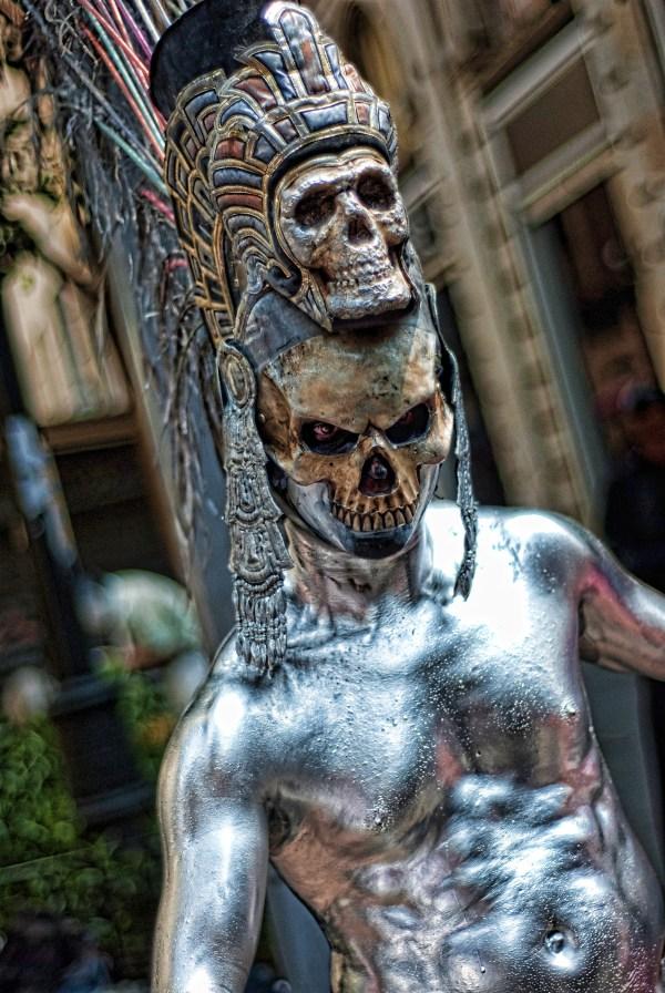 Skeleton Sculpture Statue