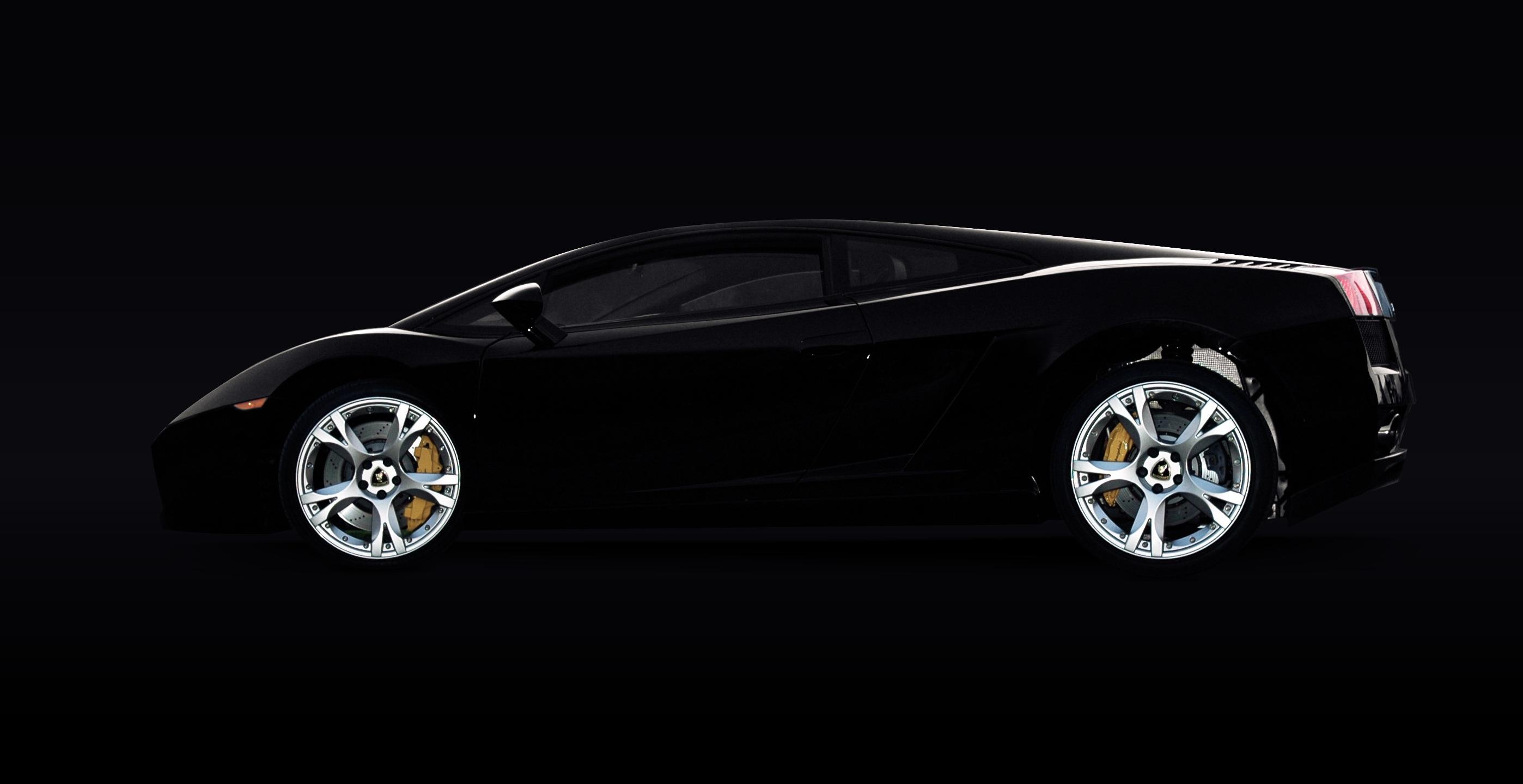 Matte Black Luxury Car Wallpaper Black Lamborghini Murcielago 183 Free Stock Photo