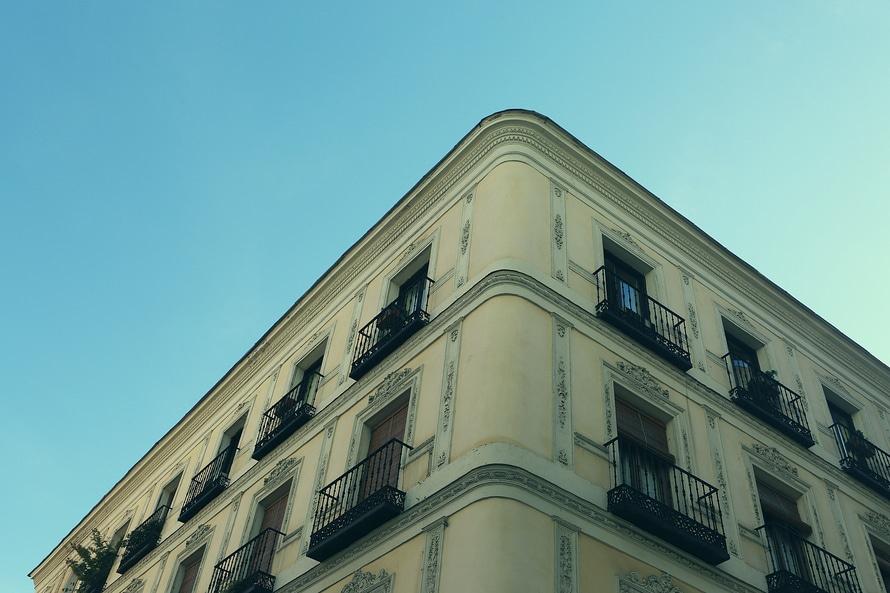 house, appartement, corner