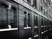 Free stock photo of architecture, black and white, bricks