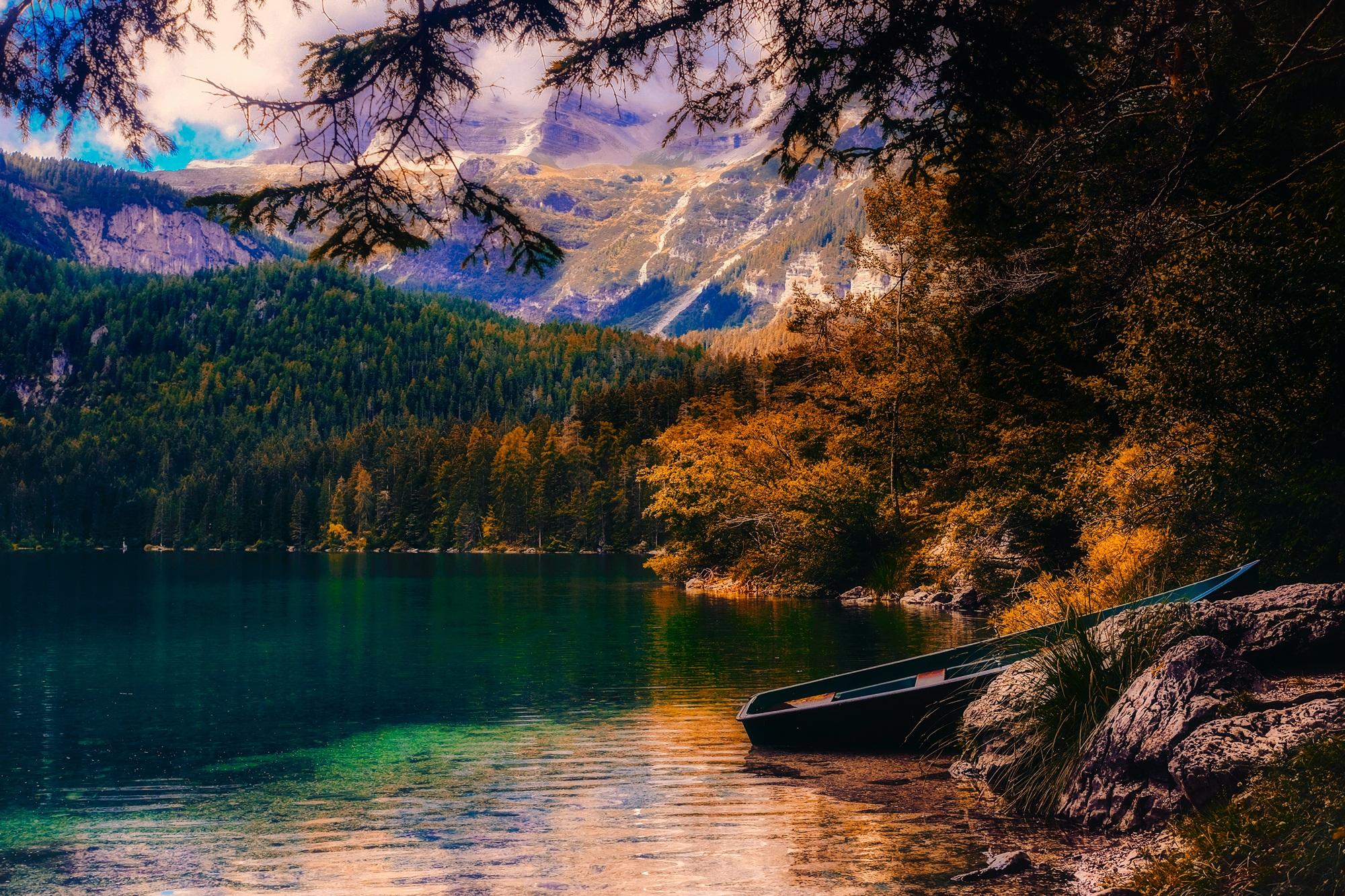 Hd Wallpapers City Nature Fall Free Stock Photo Of Autumn Beautiful Boat