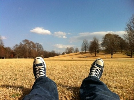 Free stock photo of sunny, man, person, legs
