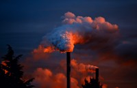 Smoke Coming Out of Pipe  Free Stock Photo