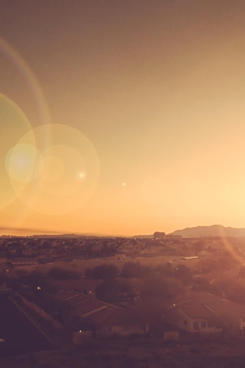 Car In Desert Wallpaper Free Stock Photo Of City Lens Flare Sunrise
