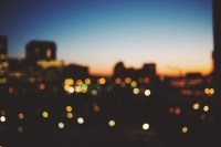 Free stock photo of bokeh, city, dark