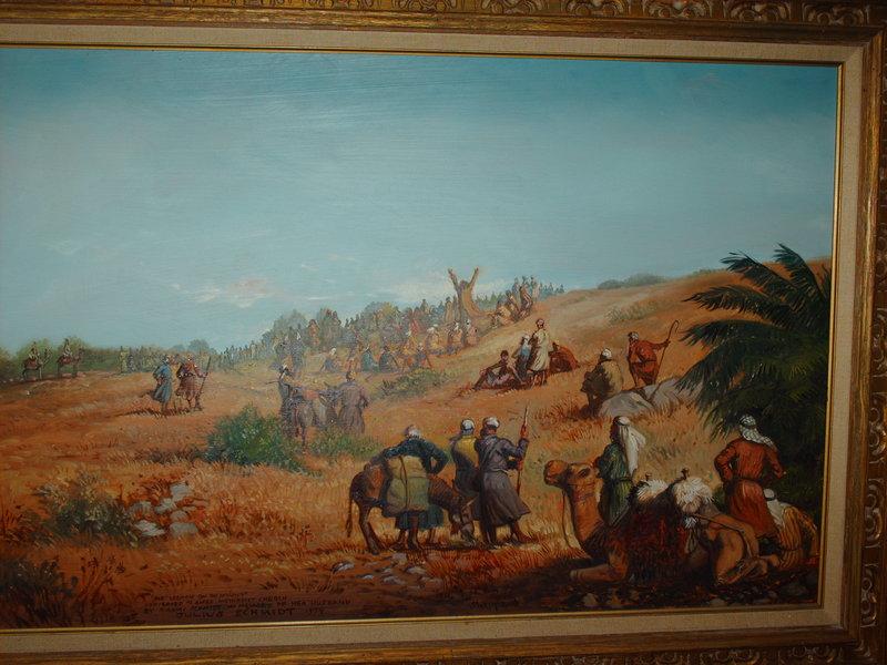 Sermon on the Mount Original Art by Joseph Sheppard :: PicassoMio
