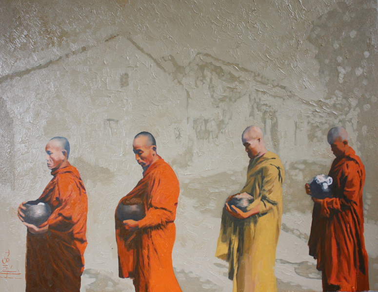 Monk TB0010 by Thai Binh Vu
