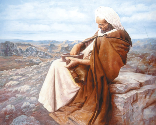 nómada, pastor del desierto